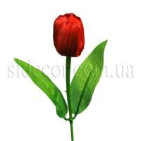 Маленький искусственный тюльпан